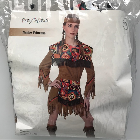 Funny Fashions Other Native American Princess Costume Womens 1012